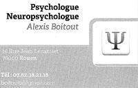 Psychologue A. Boitout